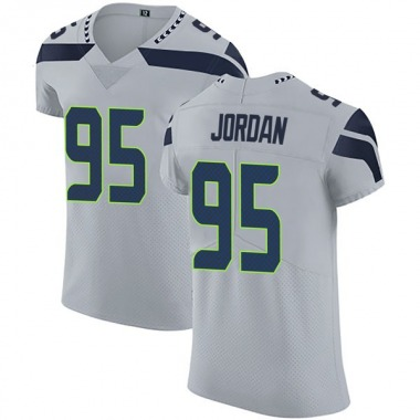 Men's Nike Seattle Seahawks Dion Jordan Alternate Vapor Untouchable Jersey - Gray Elite