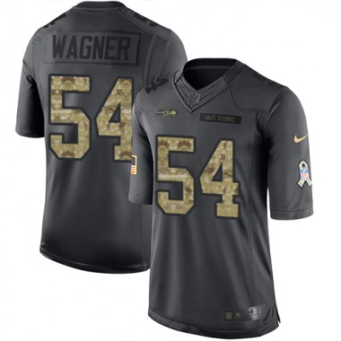 Youth Nike Seattle Seahawks Bobby Wagner 2016 Salute to Service Jersey - Black Limited