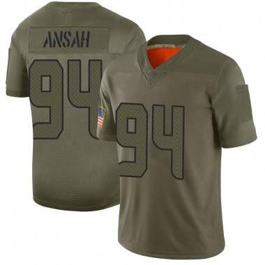 Youth Nike Seattle Seahawks Ezekiel Ansah 2019 Salute to Service Jersey - Camo Limited