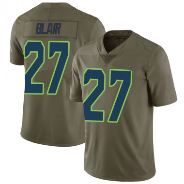 Youth Nike Seattle Seahawks Marquise Blair 2017 Salute to Service Jersey - Green Limited