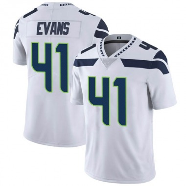 Youth Nike Seattle Seahawks Marwin Evans Vapor Untouchable Jersey - White Limited